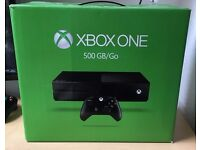 XBOX ONE 500GB CONSOLE WITH HEADSET AND GAMES [Used/Perfect Condition]