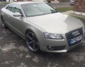 Audi A5 2.0 TDI SE Coupe 2 door Diesel. Manual 168BHP