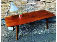 1960s Rosewood coffee table - restored