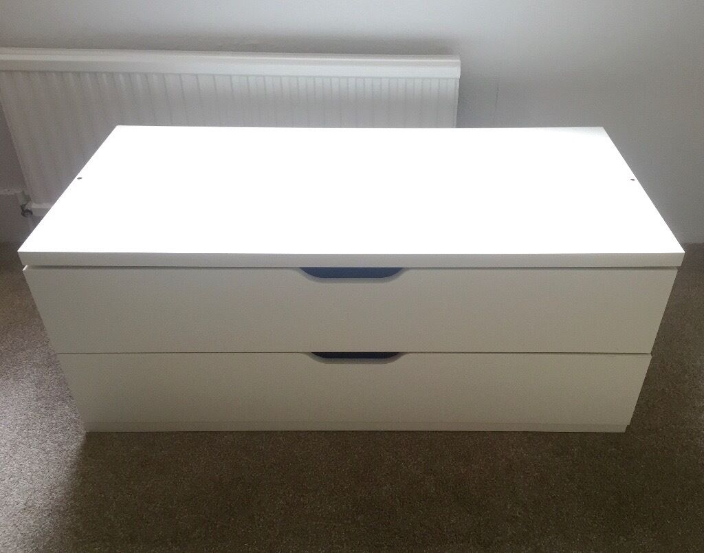 ikea drawers tv stand bench white stolmen nordli in highbury london gumtree. Black Bedroom Furniture Sets. Home Design Ideas