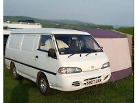 Campervan / Day van / Panel van / White van