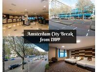 Luxury Amsterdam City Breaks w/ Christmas Market from £99 pp