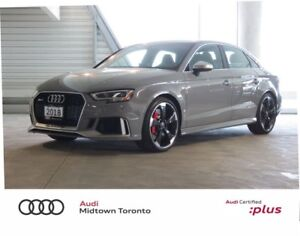 2018 Audi RS 3 2.5T quattro w/ Carbon Inlays|Sport Exhaust