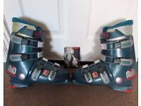 Rossignol Dark Green Mens Ski Skiing Boots Size 8 Mondo 26.5