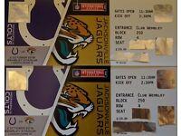 NFL Tickets - Indianaopolis Colts v Jacksonville Jaguars, Premium Club Wembley
