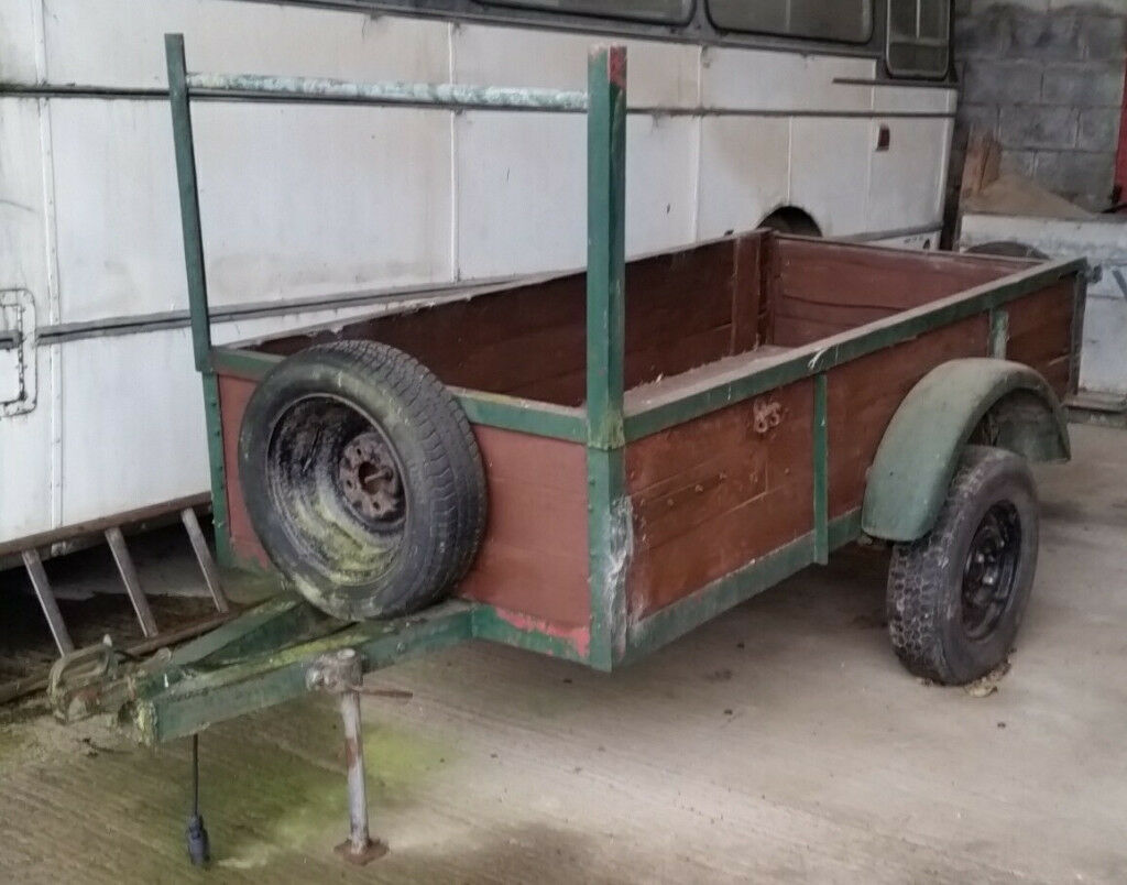Trailer, Heavy Duty, Robust, Well built, Steel Box section frame 8 ...