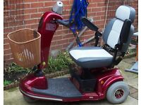 MOBILITY SCOOTER & CAR RAMP EXCELLENT CONDITION, HARDLY USED