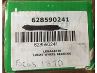 BNIB unfitted Lucas wheel bearing kit. Bought to fit a 2004 Ford Focus