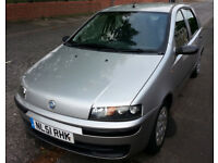 PUNTO 1.2 ELX 8v 5 DOOR - LOW MILEAGE - SIMILAR INSURANCE GROUP TO FIESTA CLIO ETC