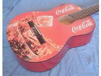COCA COLA - COOL GUITAR - AMAZING DECORATIVE GUITAR - FULL SIZE CLASSICAL GUITAR