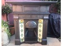 Antique Victorian Fireplace C1893 (Cast Iron)