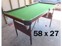 POOL-SNOOKER TABLE