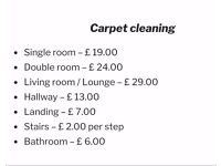 Lowest price for Carpet cleaning in Hull