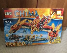Lego Chima Flying Pheonix Fire Temple
