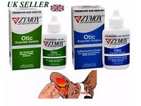 ZYMOX OTIC ENZYMATIC SOLUTION - DOGS/CATS EARS TREATMENT FOR ACUTE CHRONIC OTITIS *UK SELLER*