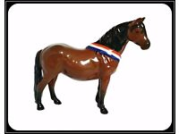 """Vintage Beswick Dartmoor Warlord's Mare """"Another Bunch"""" Horse Limited Edition £90 ONO"""