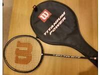Wilson Titanium Power Badminton Racquet