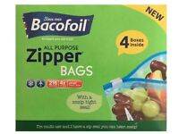 Bacofoil Zipper Bags Pack of 216