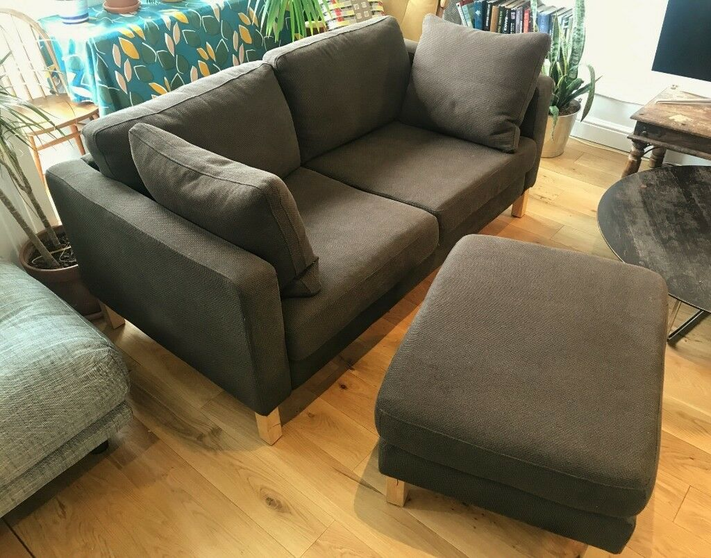 Excellent Ikea Karlstad Corner Sofa With Ottoman Chaise In Hoxton London Gumtree Cjindustries Chair Design For Home Cjindustriesco
