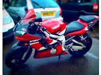 Yamaha yzf 600cc 2002 model last year they had carbs