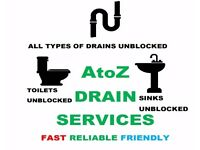 AtoZ DRAIN SERVICES < NO CALL OUT CHARGE! > < EXPERIENCED DRAIN SPECIALIST! >
