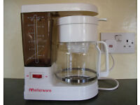 Vintage 1980s Mellerware 10-12 cups coffee maker in original box. £3 ovno.