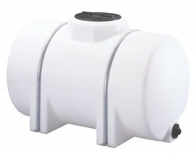 325 Gallon Horizontal Poly Storage Leg Tank Water Hauling Power Washer