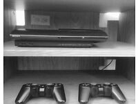 Sony Playstation 3 +2 Controllers + 2 games £85)/3 extra Games £55/Playstation Headset £25