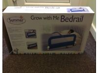 Grow with me bed guard blue
