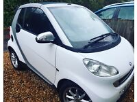 Smart Fortwo passion - convertible - heated leather, Nav, full history