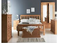 Burford Pine Bedroom Furniture **Home Delivery Available**