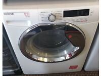 HOOVER 8KG WASHER DRYER DISPLAY MODEL FREE DELIVERY AND WARRANTY