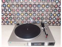 SANSUI P-D11 Semi-Automatic Direct-Drive Turntable with New Stylus.
