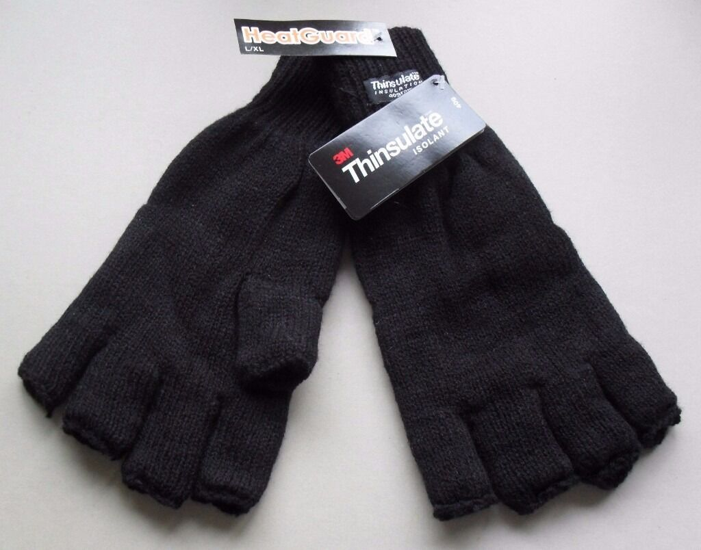 Fingerless gloves thinsulate - Fingerless Gloves With 3m 40g Thinsulate Lining