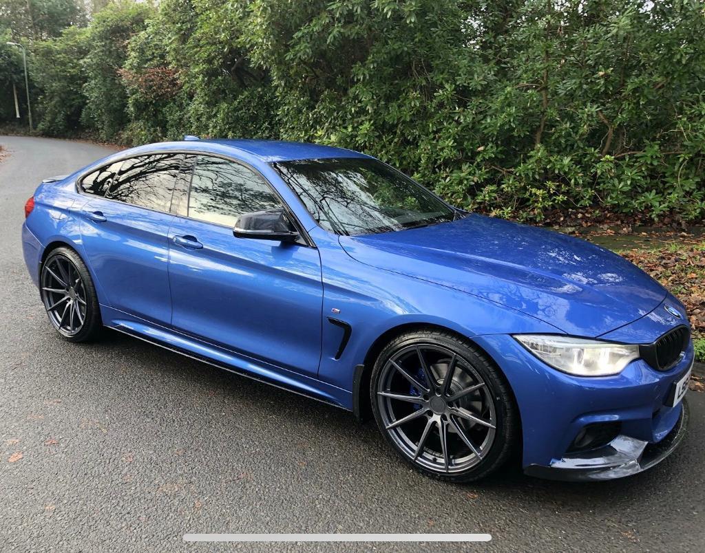 BMW 420d M SPORT GRAN COUPE not Mercedes Audi   in ...