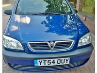 Bargain Vauxhall Zafira 54 reg 1.6 life, 7 seats in immaculate condition inside and out