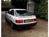 COLLECTORS CAR.........1990 AUDI 80 FUEL INJECTED.