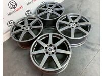 """GENUINE MERCEDES 18"""" AMG ALLOY WHEELS (AVAILABLE WITH TYRES) - 5 x 112 - GLOSS GREY - 223"""
