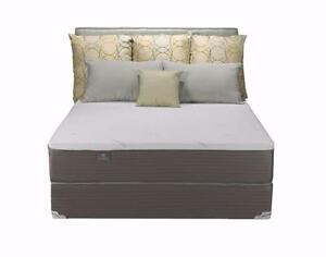 Brand New Queen Memory Foam Boxspring and Mattress Set - Payment Plan