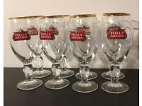 Half Pint Stella Artois Glasses