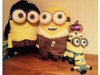 Job Lot of Minion Soft Toys