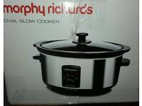 brand new in box 3.5l morphy richards slow cooker