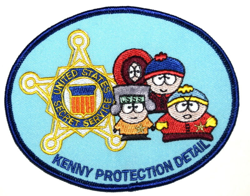WASHINGTON DC – USSS – KENNY PROTECTION DETAIL FEDERAL Sheriff Police Patch ~