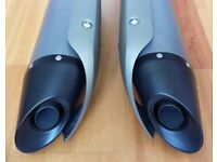 YAMAHA R1 EXHAUST END CANS FOR 2004 MODELS