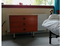 Chest of drawers - retro looking, on legs