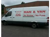 Man and Van Removals House Clerance Single Items to Full House.