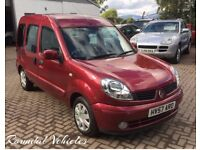 Renault Kangoo 1.6 Expression Auto LOW MILES 65000 serviced fresh 12 months mot Great Utility car