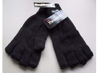 Fingerless Gloves with 3M 40g Thinsulate Lining