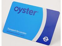 Selling oyster travel card for 12 months for Zones 1-6 for London