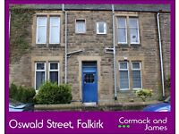 TO LET - Oswald Street, Falkirk (Near Town Centre) 1 Bedroom Flat for Rent - NOW AVAILABLE